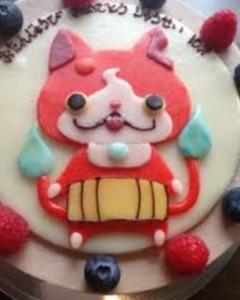 妖怪ウォッチ ケーキ